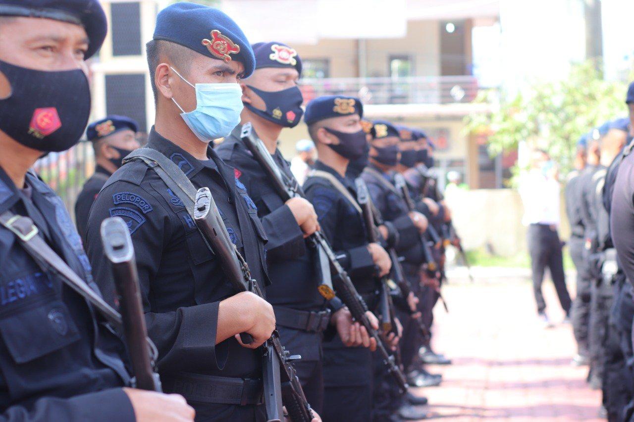 Amankan Pilkada Madina, Polres Madina Siapkan 400 Personel