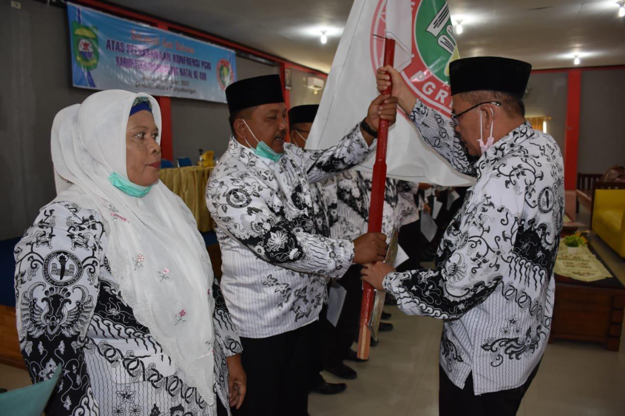 Ahmad Gong Matua Terpilih Sebagai Ketua PGRI Madina