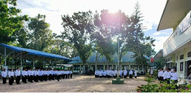 Upacara HAB ke-75 di STAIN Madina, Sejumlah Pegawai Dapat Satya Lencana