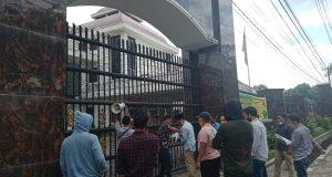 Dugaan Maladminitrasi DAK Disdik Madina, Mahasiswa Madina Demo di Kejatisu