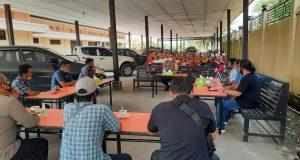 Coffee Morning bersama Wartawan, Kapolres Bahas Isu Daerah