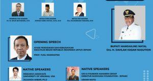 Pemkab, PGRI dan FKP Madina Gelar Webinar Internasional Penguatan Pendidikan Karakter