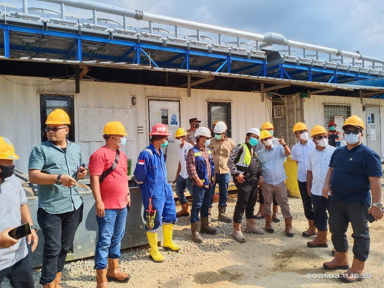 Pansus DPRD Madina Kunjungi PT SMGP, Amati Proses Pengeboran dan Limbah Perusahaan