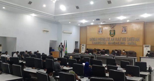 Rekomendasi LKPJ Bupati Tahun 2020, Pansus Sampaikan 6 Poin