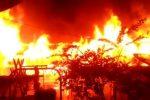 Tiga Ruang Belajar dan Dua Perumahan SDN 156 Maga Lombang Terbakar