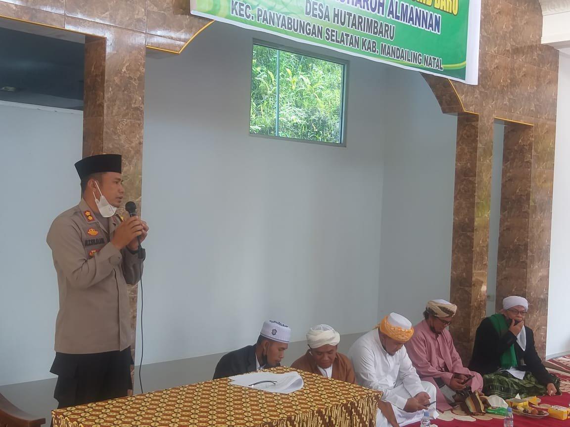 Resmikan Pesantren Jauharoh Al-Mannan, Kapolres: Pesantren Efektif Menumbuhkembangkan Pendidikan