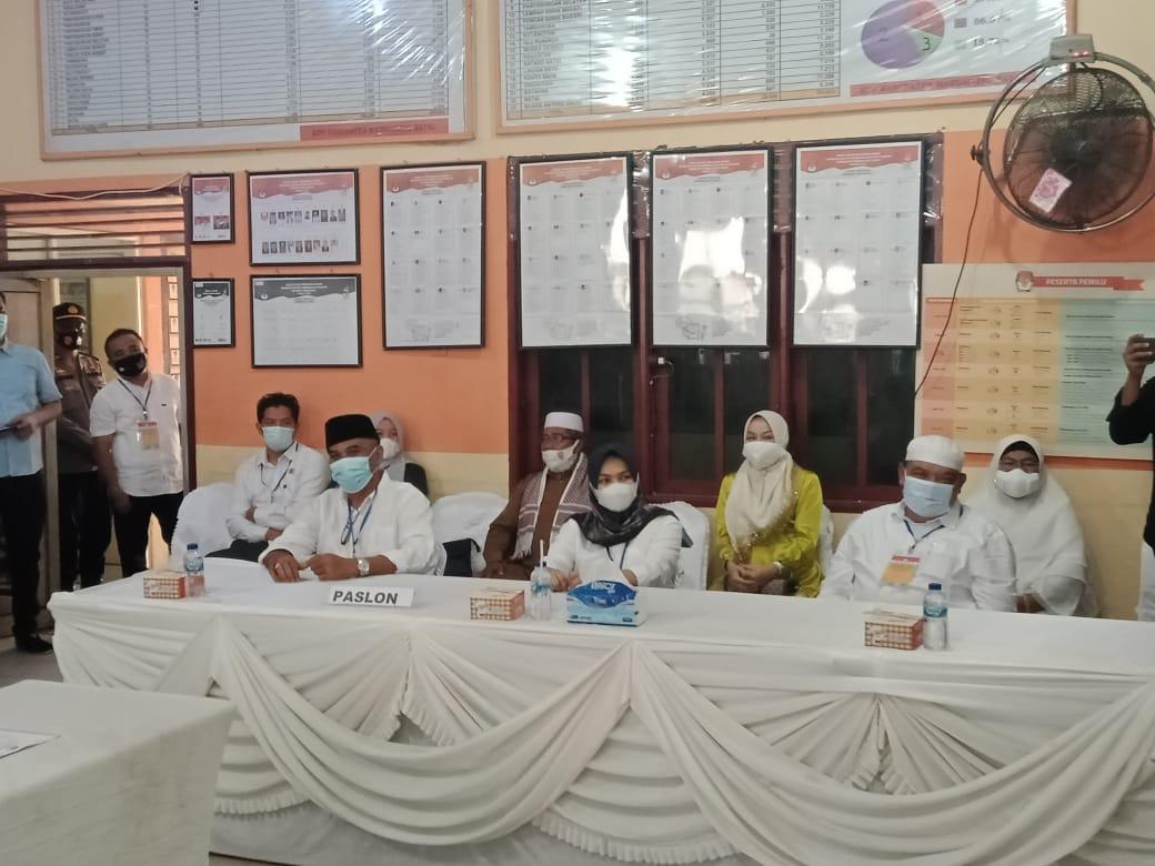 Pasca Sengketa Jilid II, KPU Tetapkan Bupati dan Wakil Bupati Madina Terpilih