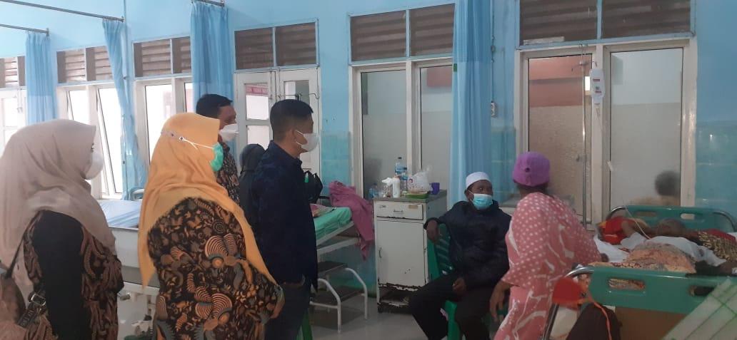 Ketua DPRD Madina Kunjungi RSU Panyabungan