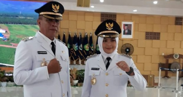 Dilantik Gubsu Edy Rahmayadi, Sukhairi-Atika Nakhodai Pemkab Madina