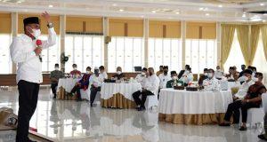 Gubernur Sumut Ajak Tokoh Masyarakat Sosialisasikan Prokes Covid-19