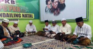 Peringati Harlah ke-23 Tahun, DPC PKB Madina Gelar Khataman Al Quran