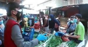 Polda Sumut Gencar Patroli di Jalan dan Pasar Tradisional Kota Medan