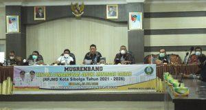 Wakil Wali Kota Siboga Buka Musrembang RPJMD 2021-2026