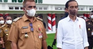 Bupati Madina Hadiri Rapat Penanganan Covid-19 Bersama Presiden Jokowi