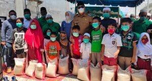 Bupati Madina Salurkan Santunan untuk 435 Anak Yatim Yayasan Al Barokah