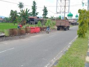 Tumpukan Sampah di Jalan Utama Panyabungan Sudah Diangkut