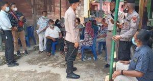 Polres Madina Kirim Tim Vaksinator ke Desa Pastap Julu