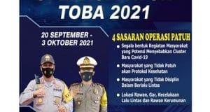 Mulai Hari Ini Polres Madina Gelar Operasi Patuh Toba 2021