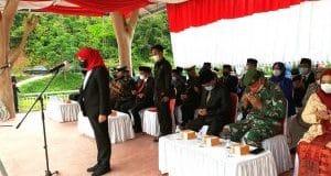 Wabup Madina Pimpin Upacara Hari Kesaktian Pancasila di Taman Raja Batu