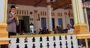 Di Hadapan Jamaah Baitul Bukhori, Kapolres Madina Singgung  Narkoba