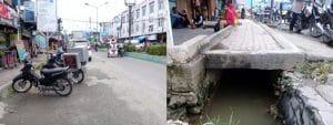 Pasarlama Panyabungan Tak Banjir Lagi, Semoga Parit Jalan Tak Tersumbat