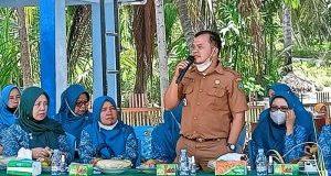TP-PKK Madina Nilai Desa Sabajambu sebagai Calon Desa Binaan