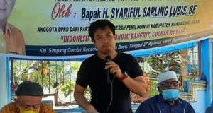 Tokoh Pemuda Pantai Barat Dukung Polres Madina Berantas Peredaran Narkoba di Linggabayu